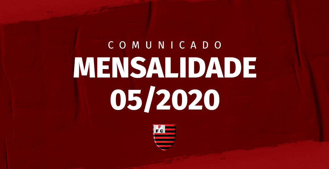 Comunicado Mensalidade 05/2020